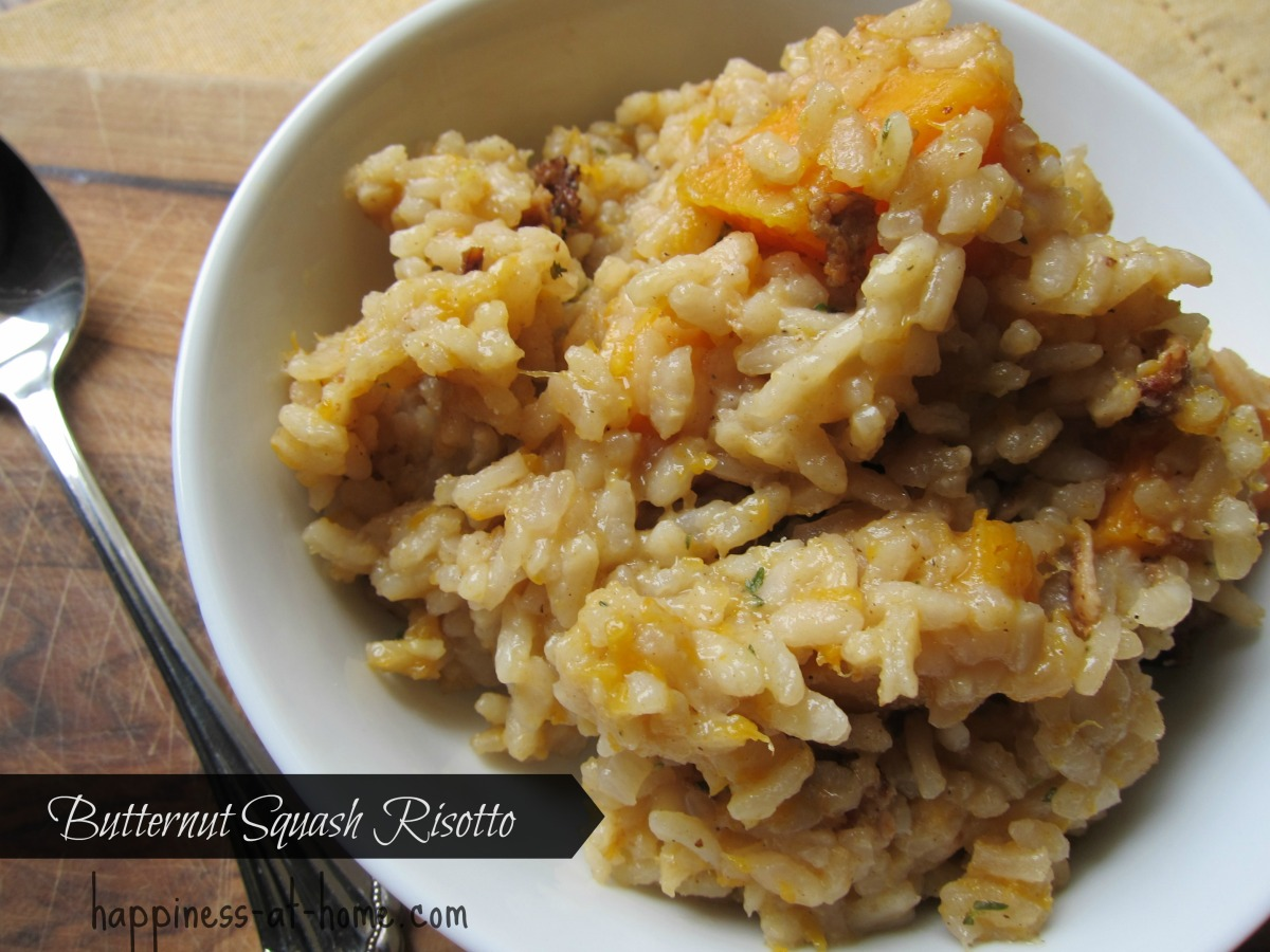 Risotto With Butternut Squash And Allspice Recipe — Dishmaps